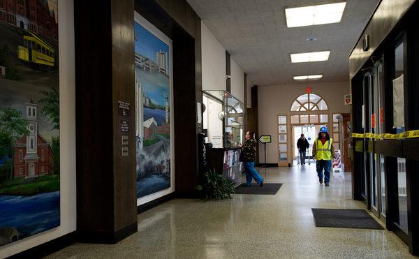 Bangor City Hall Lobby 2019.jpg